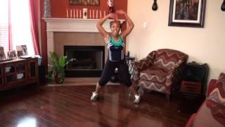 Waist Trimming/Thigh Toning Dance Workout by superherofitnesstv