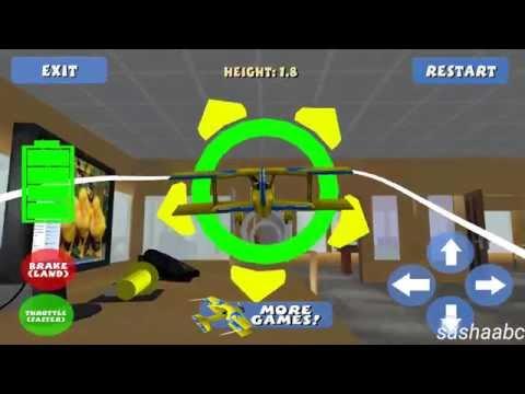 airplane RC simulator 3D обзор игры андроид game rewiew android