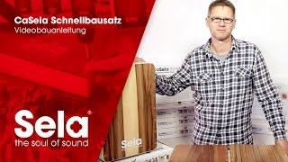 CaSela Assembling Instructions Videos 1