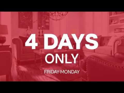 Video Memorial Day 4-Day Sale at Ashley HomeStore