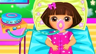 Dora The Explorer - Baby Dora Disease Doctor Game - Dora The Explorer full Episodes
