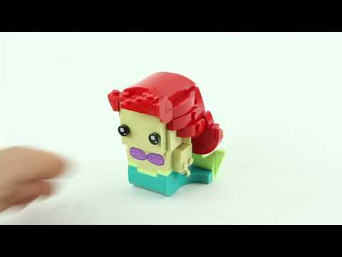 Vidéo LEGO BrickHeadz 41623 : Ariel & Ursula (La petite sirène)