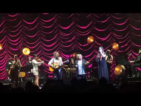 Highwomen- Brandi Carlile with The Highwomen and Mavis Staples at MSG NYC 9/14/19