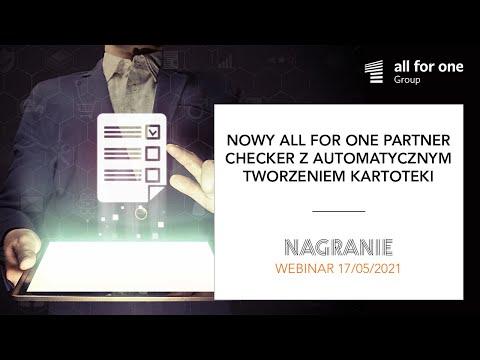 Nowy SNP Partner Checker z automatycznym tworzeniem kartoteki kontrahenta