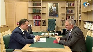 Андрей Никитин и Юрий Михайлов обсудили итоги работы регионального института бизнес-омбудсмена