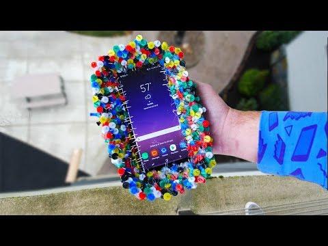 Samsung Galaxy Note 8 letteralmente sulle spine nel nuovo drop test