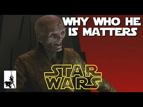 "Snoke's ""backstory"" highlights the greatest issue Star Wars will face going forward"