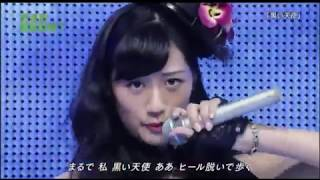 AKB48黒い天使藤田奈那高城亜樹藤江れいな