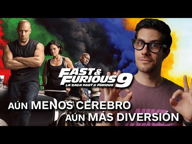 'FAST & FURIOUS 9' es BRUTAL: Un chute de adrenalina tan descerebrado como divertido