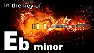 PROG METAL Backing Track in Eb MINOR - Up Tempo MELODIC Metal Jam Track in Ebm
