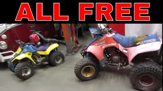 Lets Treasure Hunt the town wide Free Piles, power equipment,