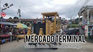 MERCADO EN LA TERMINAL DE SANTA EULALIA HUEHUETENANGO GUATEMALA 2020