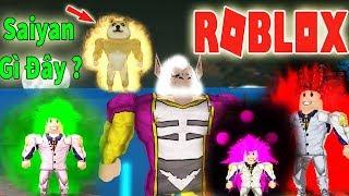 Roblox - Sức Mạnh Saiyan Bá Đạo Bí Ẩn Có Cả Khỉ Đột Zeno Sama - Dragon Ball Galaxy X