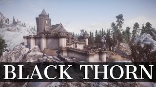 Skyrim SE Mod - Black Thorn Keep