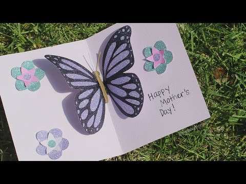 Butterfly Pop-up Card Tutorial