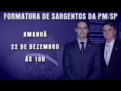 JAIR BOLSONARO AMANHÃ NA FORMATURA DE SARGENTOS EM ANHEMBI/SP
