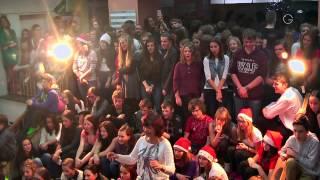 preview picture of video 'Vánoční den Gymnázia Příbram 2014'