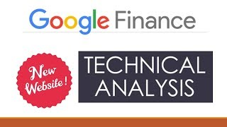Google Finance Free new website for Advanced Technical Analysis