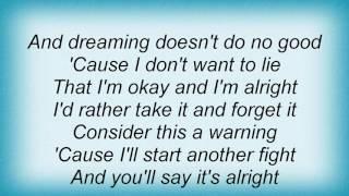 Anna Nalick - Consider This Lyrics
