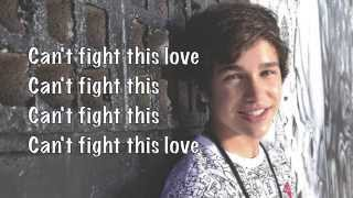 Austin Mahone - Can't fight this love (Lyrics Video)