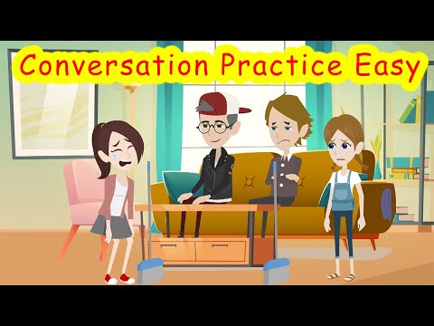 Learn English Speaking Easily Quickly   English Conversation Practice Easy