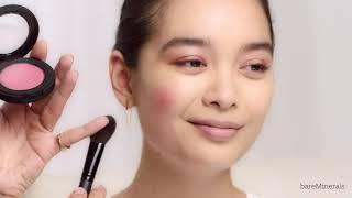 Glowy Makeup LookTutorial With Kira Nasrat | BareMinerals