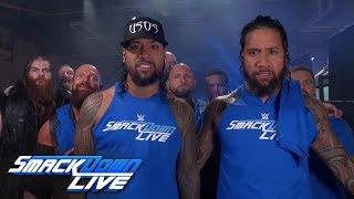 The Usos rally Team SmackDown ahead of Survivor Series: SmackDown LIVE, Nov. 13, 2018