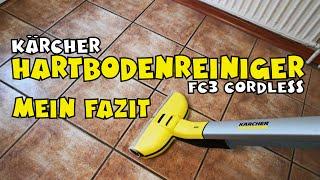 Alles über den Kärcher Hartbodenreiniger FC 3 Cordless