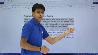 MS Word - Paragraphs
