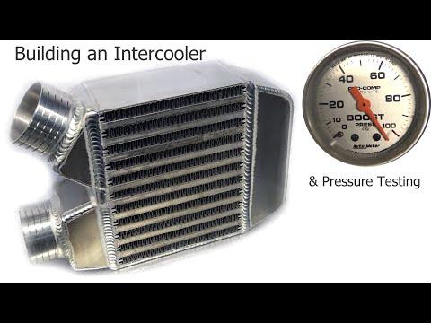 Tig welding an aluminum intercooler