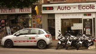 preview picture of video 'auto moto école Le Raincy Tous Chemins'