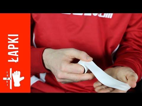 Wpadać na ścięgna palca środkowego