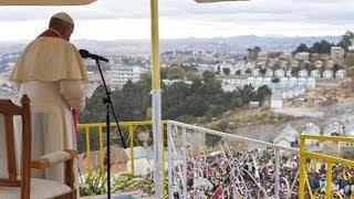 La deuxième journée du Pape François à Madagascar en 60 secondes