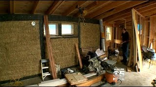 Berkeley Cottage Built Of Straw A Model Of Energy Efficiency