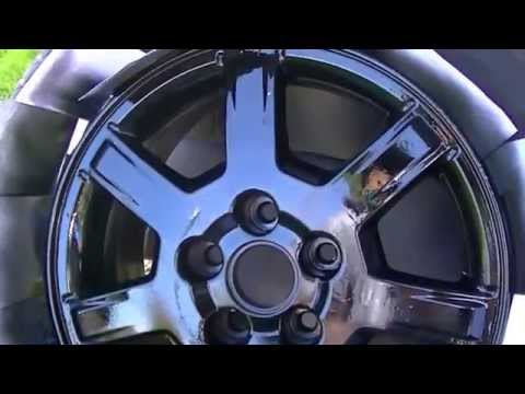 2005 Cadillac CTS Spray Paint Wheels