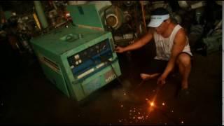 Kubota 280A Welder Generator Test run