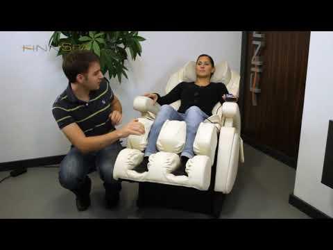 Promovideo: Masážní křeslo FINNLO FINNSPA PREMION Massage Chair, black