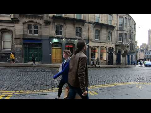 Walk Around Edinburgh City Centre In Scotland Mp3