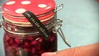 Mermelada de granada sin azucar