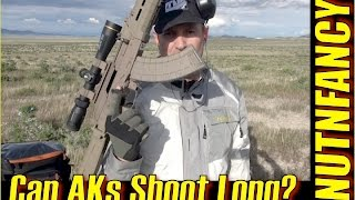 Video Long Range Shooting Tips For AK-47 Variants!