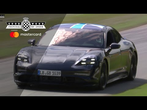 Porsche Taycan world debut at Goodwood Festival of Speed