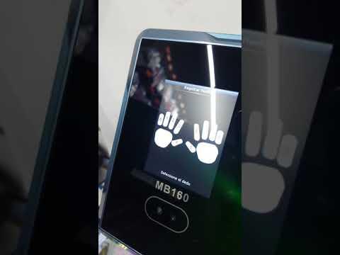 Alta de Usuarios en Reloj Checador ZK MB160