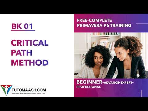 BK01- Critical Path Method | Free Primavera p6 Online tutorial for ...