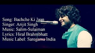 """BACHCHE KI JAAN LOGE KYA"" Full Song With Lyrics ▪ Arijit Singh ▪ 102 Not Out ▪ Amitabh B & Rishi K"