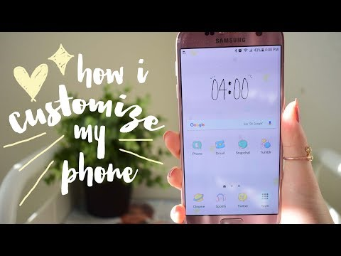 how i decorate/customize my android! *girly & cute* | DIYDazzleNails
