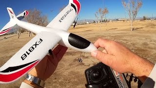 FX818 Pterosaur RC Glider Flight Test Review