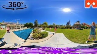 360 House Tour!!! Secret Room, Backyard, Everything in this VR 360 Video