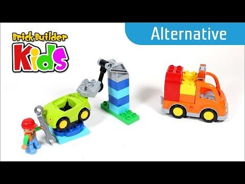 Vidéo LEGO Duplo 10814 : La dépanneuse