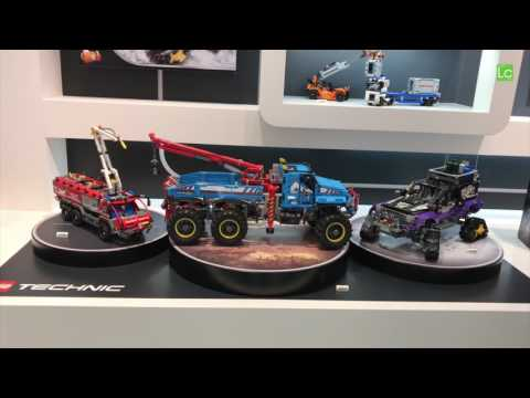 Lego Technic 2nd half of 2017 set preview