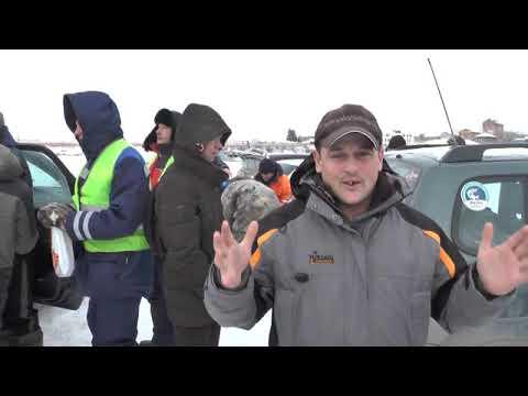 Под Сызранским кремлем прошли соревнования на Кубок Самарской области по зимней блесне